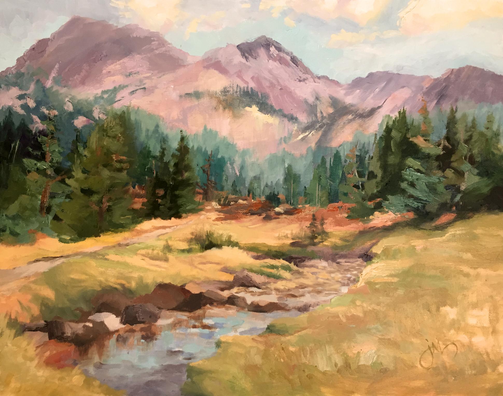 Painting Amazing Yosemite